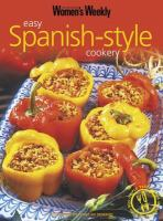 Easy Spanish-style Cookery