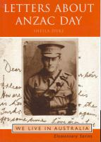 Letters About ANZAC Day