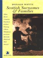 Scottish Surnames and Families