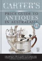 Carter's Price Guide to Antiques in Australasia 2009