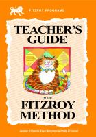 Teacher's Guide to the Fitzroy Method