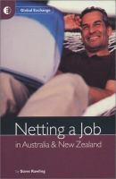Netting A Job in Australia & New Zealand