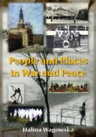 People and Places in War and Peace