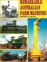 Remarkable Australian Farm Machines