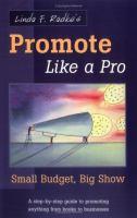Linda F. Radke's Promote Like A Pro