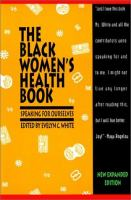The Black Women's Health Book