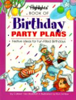 Highlights Book of Birthday Party Plans