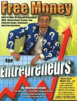 Lesko's Free Money for Entrepreneurs