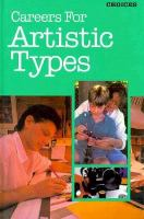 Careers For Artistic Types