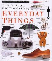 The Visual Dictionary Of Everyday Things