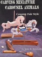 Carving Miniature Carousel Animals