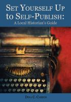 Set Yourself up to Self-publish