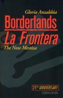 Cover of Borderlands/La Frontera: T