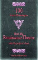 100 Great Monologues From The Renaissance Theater