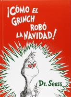 Cómo El Grinch robó La Navidad