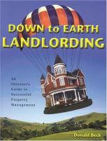 Down to Earth Landlording