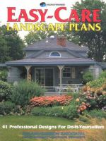Easy-care Landscape Plans