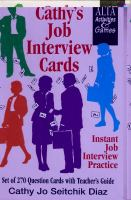 Cathy's Job Internew Cards