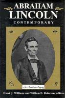 Abraham Lincoln, Contemporary