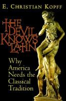 The Devil Knows Latin