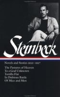 Novels and Stories, 1932-1937