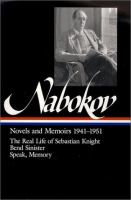 Novels and Memoirs, 1941-1951
