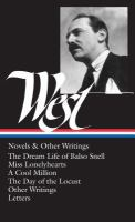 Novels and Other Writings