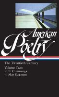 American Poetry, the Twentieth Century