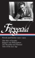 Novels and Stories, 1920-1922