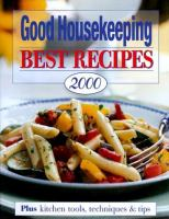 Good Housekeeping Best Recipes 2000