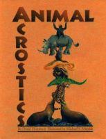 Animal Acrostics