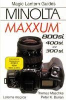 Minolta Maxxum 800si, Stsi, and QTsi