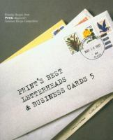 Print's Best Letterheads & Business Cards 5