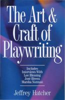 The Art & Craft of Playwriting
