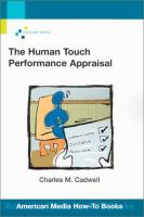 The Human Touch Performance Appraisal