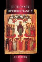 Dictionary Of Christianity