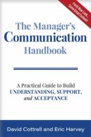 The Manager's Communication Handbook
