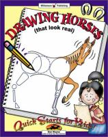 Drawing Horses (that Look Real!)