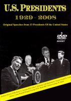 U.S. Presidents, 1929-2008