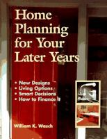 Home Planning for your Later Years