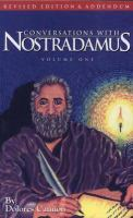 Conversations With Nostradamus, Volume One