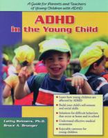 ADHD in the Young Child Driven to Re-direction