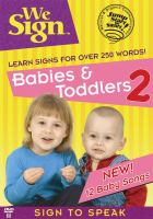 We Sign Babies & Toddlers 2