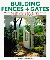 Building Fences & Gates