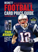 BECKETT FOOTBALL CARD PRICE GUIDE 2017