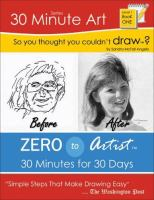 So You Thought You Couldn't Draw