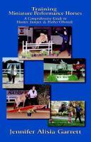Training Miniature Performance Horses