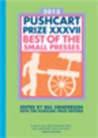 2013 Pushcart Prize XXXVII