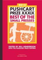 2015 Pushcart Prize XXXIX