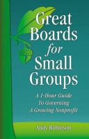 Great Boards for Small Groups